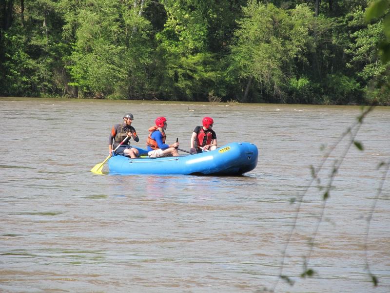 Opblaasbare rubberboot